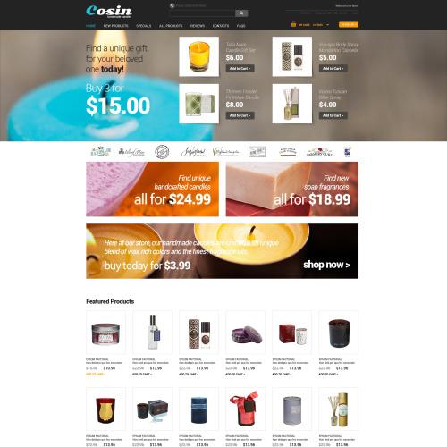 Cosin - HTML5 ZenCart Template