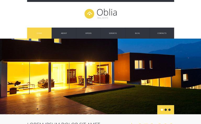 Dream House Bureau WordPress Theme