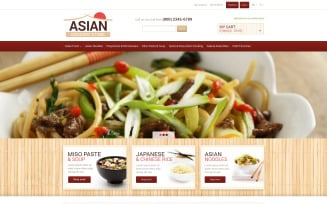 Eastern Food Shop Magento Theme