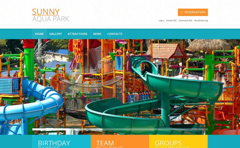 Entertainmentusement park template wordpress theme 49450 amusement park template wordpress theme new screenshots big maxwellsz