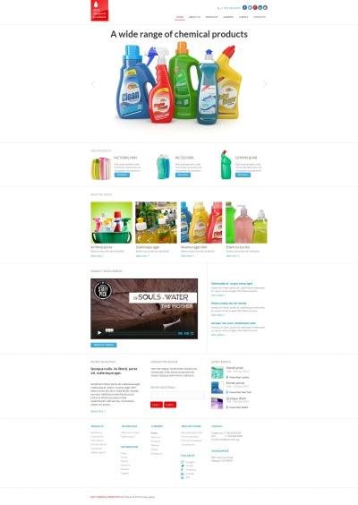 Cleaning Moto CMS HTML šablona