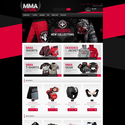 MMA Store - Responsive Magento Template