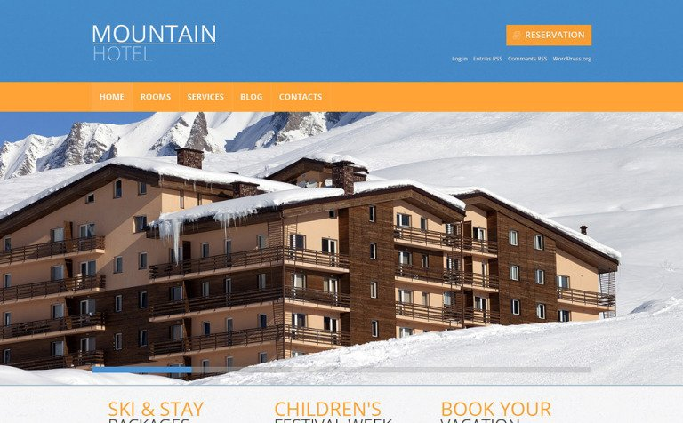 13 Hotel Blog Themes & Templates