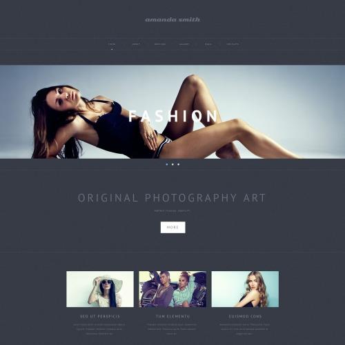 Amanda Smith - Photo Gallery Template