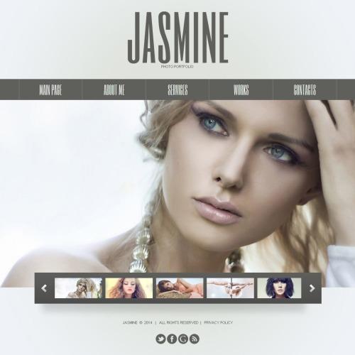 Jasmine Photo Portfolio - Photo Gallery Template