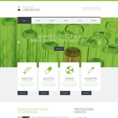 Science Lab Responsive WordPress Motiv