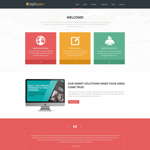 Soft Expert - Joomla! Template based on Bootstrap