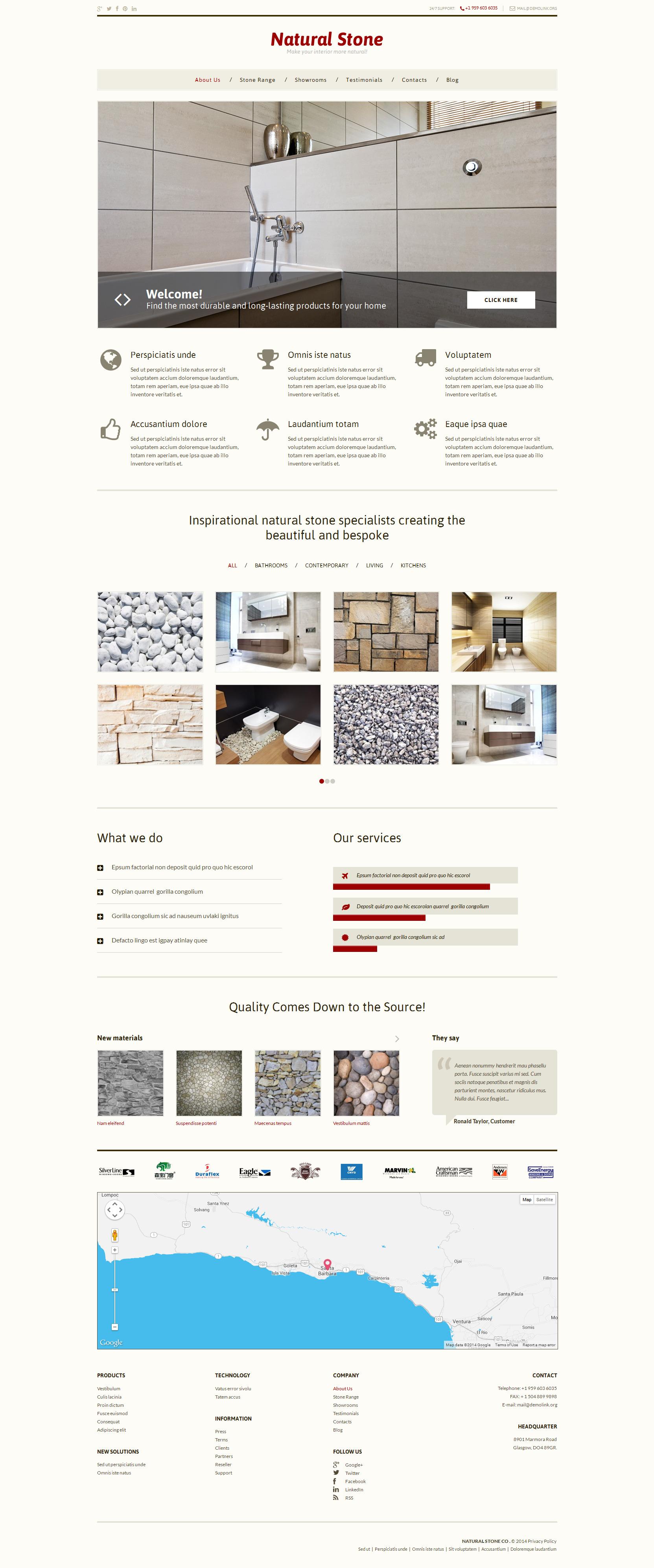 Stone Decor WordPress Theme