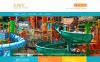 "Template WordPress Responsive #49450 ""Entertainment.Amusement Park Template"" New Screenshots BIG"