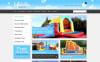 ZenCart шаблон на тему розваги New Screenshots BIG