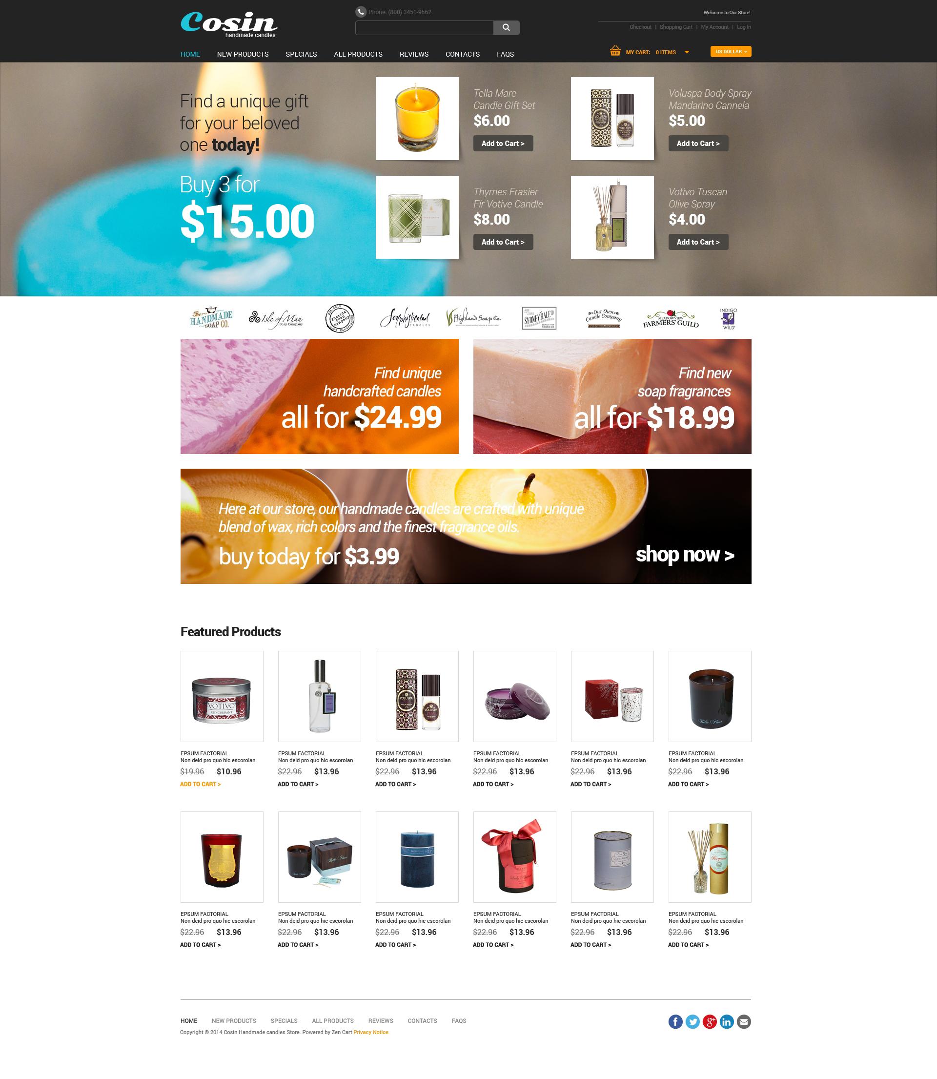 ZenCart Vorlage für Handwerk #49462