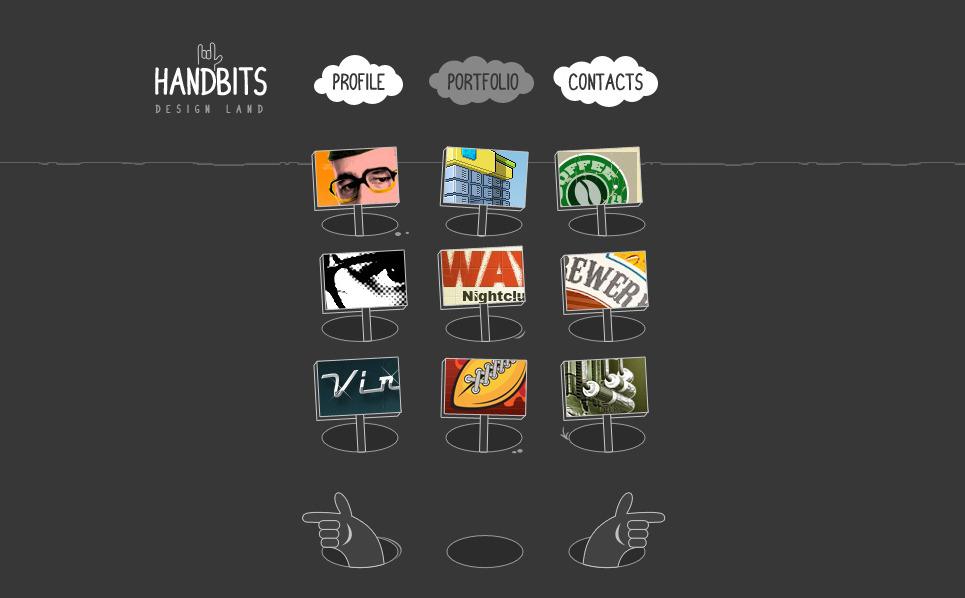 Шаблон сайту на тему студія дизайну New Screenshots BIG