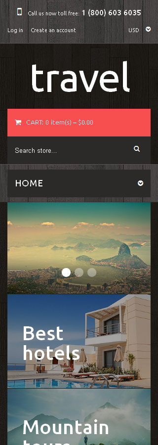 ADOBE Photoshop Template 49519 Home Page Screenshot