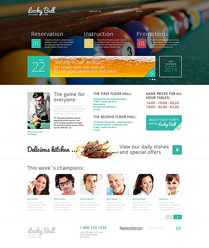 Drupal Template 49524 Main Page Screenshot