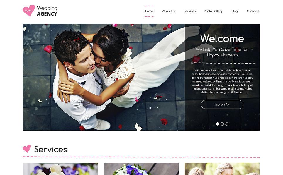 Szablon Drupal #49525 na temat: organizacja ślubu New Screenshots BIG