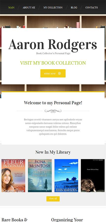 Drupal Template 49526 Main Page Screenshot