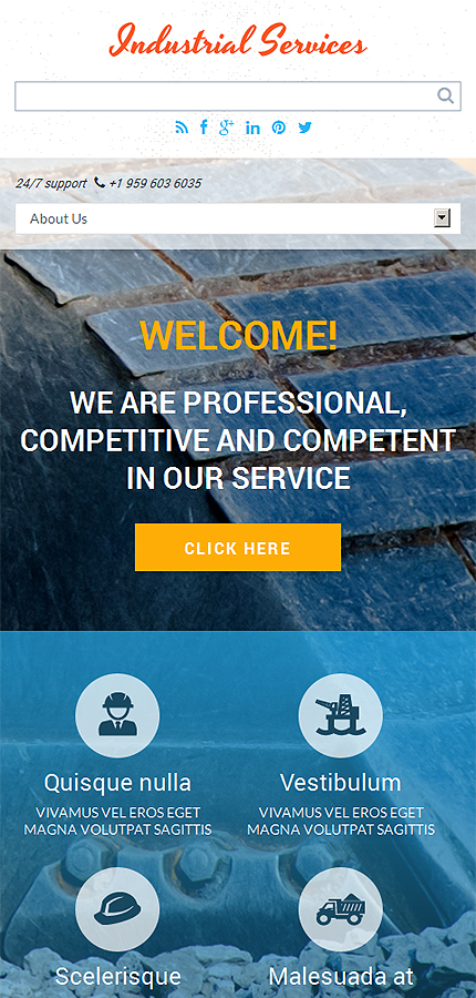 Drupal Template 49527 Main Page Screenshot