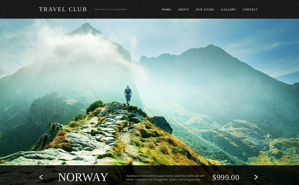 Bootstrap Utazási irodák Weboldal sablon New Screenshots BIG