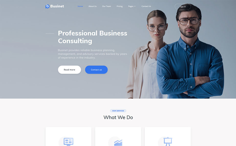Bootstrap Website template over Raadpleging  New Screenshots BIG