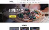 Responsivt Pizza House Multipage HTML Hemsidemall