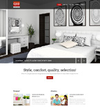 Furniture Website  Template 49532