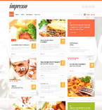 Cafe & Restaurant WordPress Template 49544
