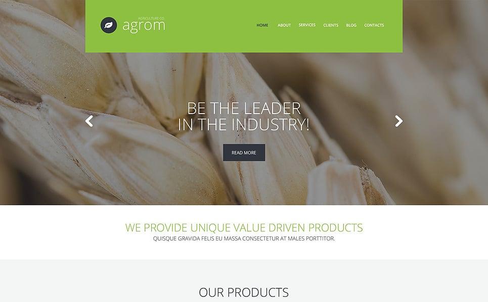 Responsive WordPress thema over Vruchten New Screenshots BIG