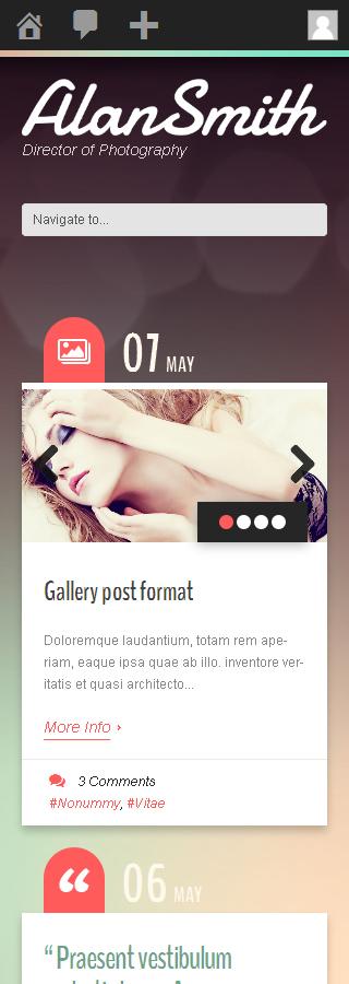 WordPress Theme/Template 49549 Main Page Screenshot