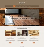 Furniture Website  Template 49557
