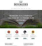 Books Website  Template 49562