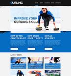 Sport Website  Template 49563