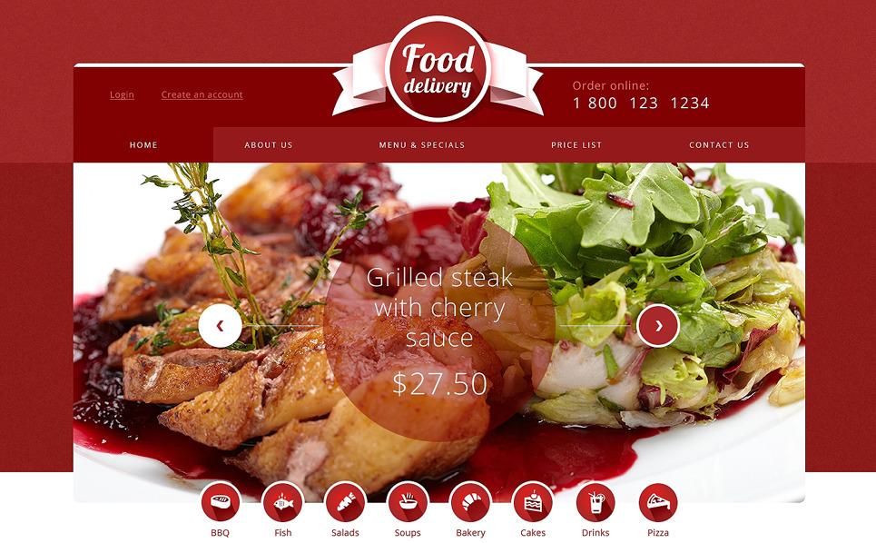 Modèle Web adaptatif  pour les sites de restauration New Screenshots BIG