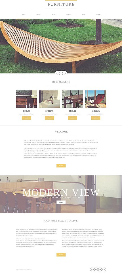 Joomla Theme/Template 49568 Main Page Screenshot