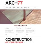 Architecture Joomla  Template 49571