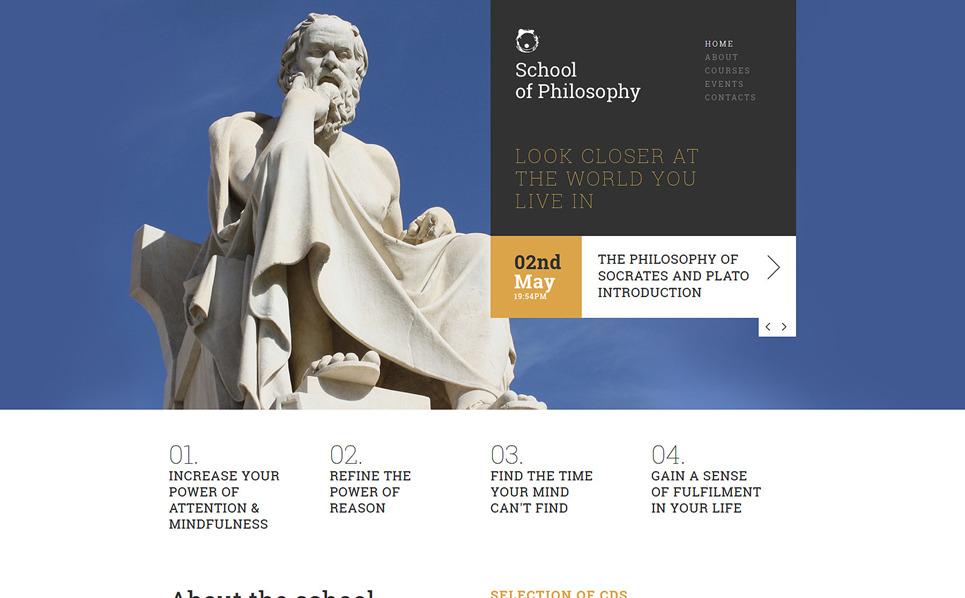 Responzivní Joomla šablona na téma Vzdělání New Screenshots BIG