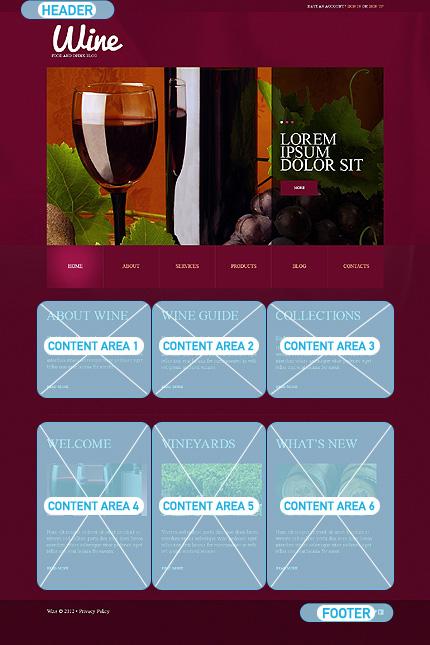 WordPress Theme/Template 49576 Main Page Screenshot