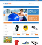 Sport osCommerce  Template 49578