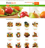 Food & Drink OpenCart  Template 49580