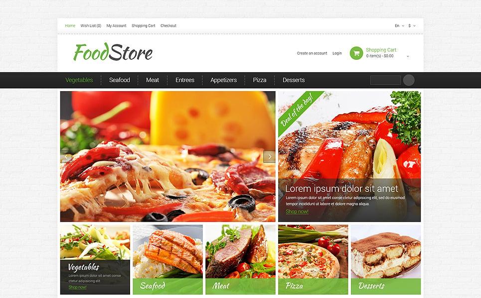 Responsive OpenCart Template over Kruidenierswinkel  New Screenshots BIG