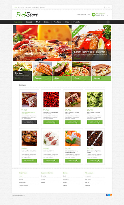 ADOBE Photoshop Template 49581 Home Page Screenshot