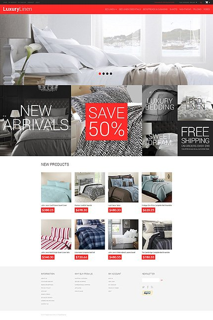 Magento Theme/Template 49586 Main Page Screenshot