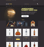 Food & Drink Magento Template 49587