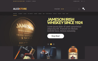 Alcoholic Beverages Magento Theme