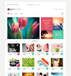 Art & Photography Magento Template 49588