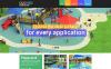 Адаптивный HTML шаблон №49597 на тему парк развлечений New Screenshots BIG