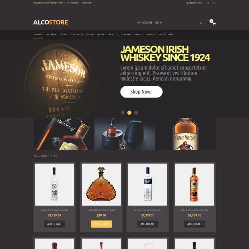 Alco Store - Responsive Magento Template