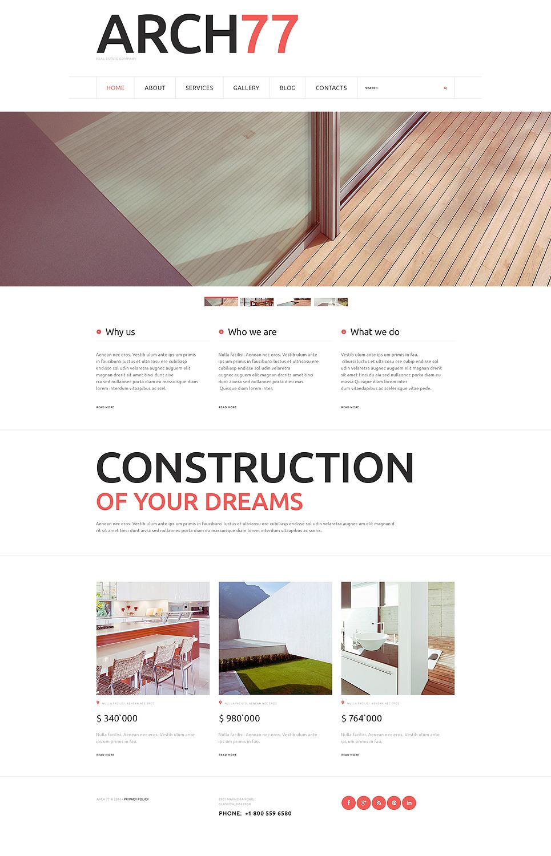 Joomla Architecture Template