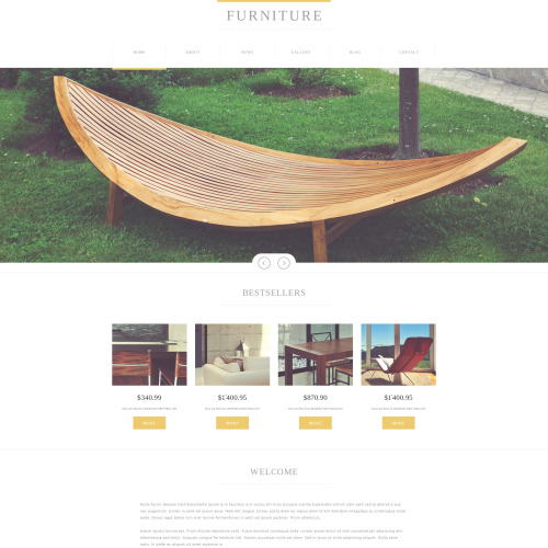 Furniture   - Furniture Design Template based on Bootstrap