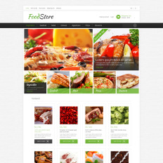 Grocery store responsive opencart template 48009 grocery store toneelgroepblik Image collections