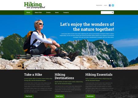 Hiking Responsive